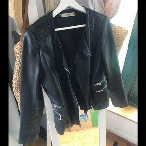 Mango genuine leather Jacket size S USA